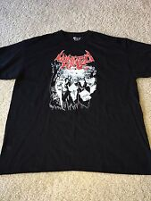 UNITED BY HATE rare XL T-SHIRT defeated sanity disgorge rottrevore devourment