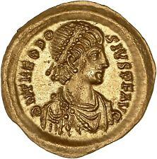 Théodose II Tremissis Fleur de coin FDC/MS Qualité exceptionnelle flan large