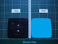 Außenspiegel Spiegelglas Ersatzglas Mercedes W124 Rechts Sph Konvex Kpl Blau