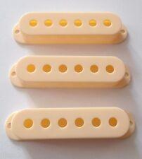 NEW 3 COVERS STRAT 52mm cream pour  guitare Fender