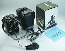 CAMERA LUBITEL 166B 6x6cm 120 film,Russian Vintage USSR #87065687 + case FULL!!!