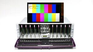 Grass Valley Miranda Densite3 10x HDA-3931 Dual 3G/HD/SD SDI Distribution Amp DA