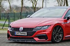 Alerón espada Front alerón cuplippe de ABS para VW arteon r-line con Abe