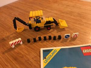 Lego City Town Set 6686 Backhoe (1984).