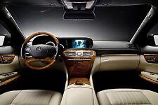 2007 - 2009 Mercedes-Benz CL-Class W216 Video In Motion NVIM TV FREE VIM DVD