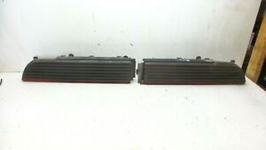 79-81 TRANS AM SMOKED LENS TAIL LIGHTS TAILLIGHTS (READ DESCRIPTION)