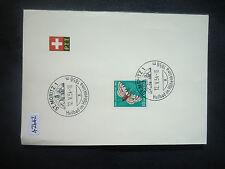 Switzerland 1954 PTT Leaflet (St Moritz 1) (SG J148) Special SHS
