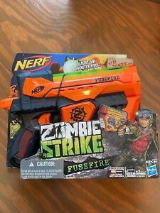 Brand New Nerf Zombie Strike Fusefire Blaster In Box