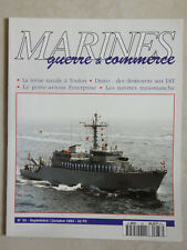 REVUE MARINES GUERRE & COMMERCE N°33 - PORTE-AVIONS ENTERPRISE -DRAVO DESTROYERS