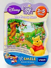 ~New~ V. Tech V Smile Cartridge: Winnie the Pooh [THE HONEY HUNT] Educational