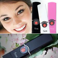 Scurl - Usb Eyelash Curling Iron Rechargeable Heated Eyelash Curler Korean Black