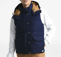 NWT The North Face Women's Down Sierra Vest Navy Size S