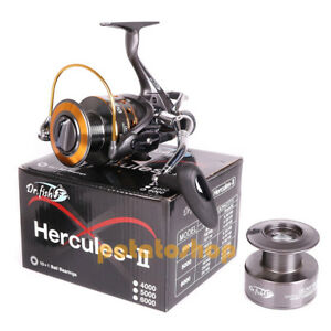 Hercules-II Carp Fishing Reel Bait n Feeder 3000 Pike Coarse Sea Tackles 11BB