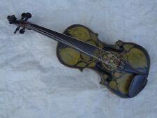 Alte Geige Violine bemalt