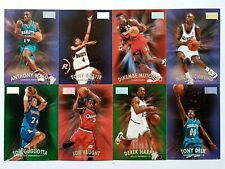 Skybox '97 Lot of 8 - Mason/Battie/Mutombo/Richmond/Gugliotta/Vaught/Harper/Delk