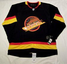 VANCOUVER CANUCKS sz 52 Large  ADIDAS RETRO Flying Skate Aeroready Hockey Jersey