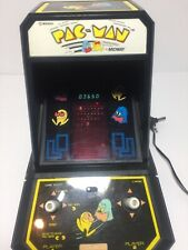 1981 Coleco Midway Pac Man Tabletop Arcade Working With Perma Power Battery Set