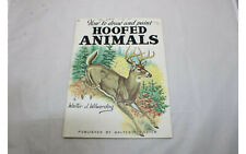 How to Draw and Paint Hoofed Animals #78 y Walter J Wilwerding - Vtg Paperback