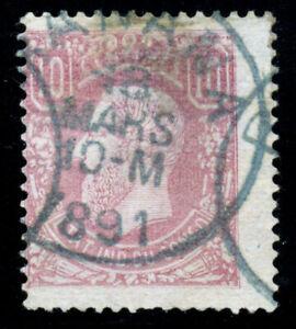 Belgian Congo 1886. 10c. Rose. SC# 2. CDS. VF Used
