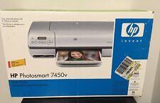 HP Photosmart 7450v Photo Printer, Sealed Old Stock, 7450