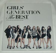 SNSD GIRLS' GENERATION THE BEST Japan Limited 2CD+Blu-ray+Booklet+Photo card