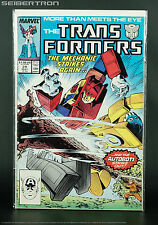 Marvel US Transformers #28 May 1987 Comic Book G1 Blaster Goldbug Direct Sales
