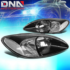 FOR 2000-2007 FORD TAURUS BLACK HOUSING CLEAR CORNER HEADLIGHT/LAMPS REPLACEMENT