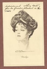 "Gibson Girl   ""Gladys"", 1908  Miss Gilchrist  1 Shalimar Terrace  Acton    AH872"