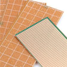 5X 6.5x14.5cm Stripboard Veroboard Uncut PCB PlatineSingleSide Circuits Board SU