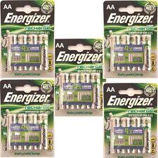 20 Aa Recargables Energizer 2000 Mah Pilas Ni-mh 2000mah Alta Capacidad Nimh