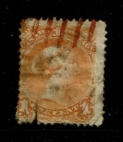 Canada SC# 23, Used, mixed condition, large bottom tear, see notes - S3883