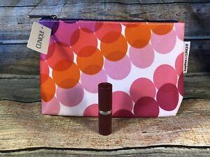 Clinique Pop Lip Colour Lipstick 13 LOVE POP & Kapitza Makeup Bag