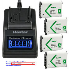 Kastar Battery LCD Quick Charger for Sony NP-BX1 BC-CSX Sony Cyber-shot DSC-RX1R