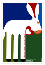 Movie Poster 4 German film-What to do with DONKEY.Love.Children room design art