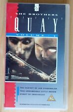 Brothers Quay Volume 1 PAL VHS | Street of Crocodiles Connoisseur Video CR 032