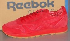 MENS REEBOK CL LEATHER TDC in colors SCARLET / WHITE - GUM SIZE 13