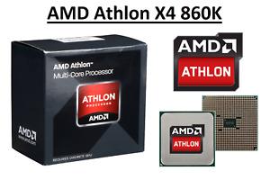 AMD Athlon X4 860K Quad Core Processor 3.7 - 4.0 GHz, Socket FM2+, 95W CPU