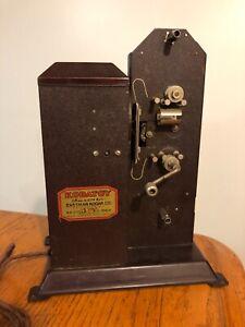 Vtg Art Deco 20's-30's Antique Eastman Kodak Kodatoy 16mm Movie Projector