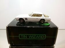 TIN WIZARD ENCO MODELS JENSEN FF 1969-1975 - WHITE 1:43 - VERY GOOD IN BOX