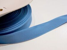 Schiff Copen Blue Grosgrain Ribbon 7/8 inch wide x 20 yards, Rayon Cotton