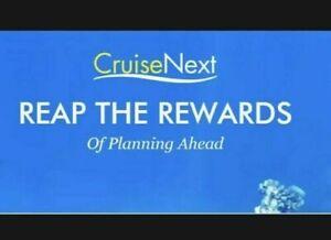 Norwegian (NCL) CruiseNext Credit Coupon Voucher Certificate $250, Exp: 01/2023