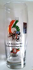 1988 Glas 6 Tage Rennen München Sixdays Cycling Radsport Sammelglas 0,5l antik