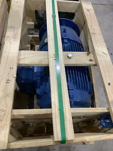 Weg 20 Horsepower Electric Motor  3 Phase 230 460 Volt 13500751 21658067 New