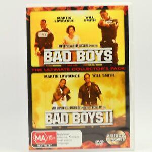 Bad Boys / Bad Boys 2 Will Smith Martin Lawrence 2004 GC DVD