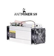 Bitmain Antminer S9 13.5TH/s ASIC Bitcoin SHA-256 Miner + Original PSU
