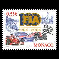 Monaco 2005 - 100th Anniversary of the FIA Formula 1 Cars - Sc 2374 MNH