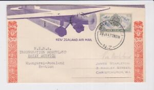 NEW ZEALAND STAMPS 1947 FIRST FLIGHT WHANGEREI TO AUCKLAND