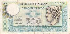 Italy: 500 Lire 2-4-79 FINE