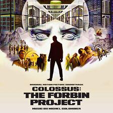 COLOSSUS THE FORBIN PROJECT Michael Colombier SOUNDTRACK Score CD La-La Land NEW