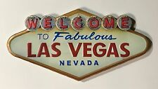 Welcome To Fabulous Las Vegas Nevada - Metal Wall Sign